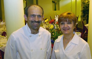 Branco and Flora Raiac of Flora's Italian Cafe