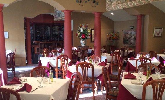Flora's Italian Cafe Dinner Menu