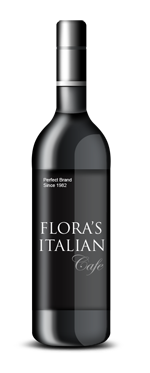 Flora's Italian Cafe - Join Us For A Glass Of Wine!